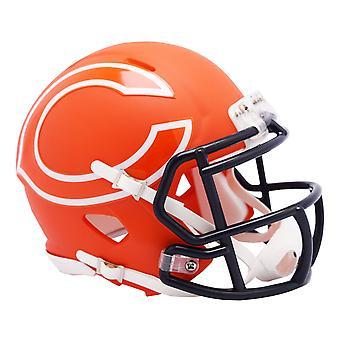 Riddell Speed Mini Casco de Fútbol - NFL AMP Chicago Bears