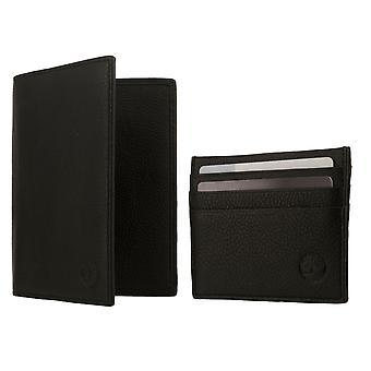 Timberland TRAVELLER GIFT SET BOX Geldbörse mit Kartenetui Schwarz 8225