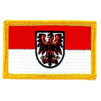 Patch Ecusson Brode Flag Bradebourg Germany Thermocollant Insigne Land