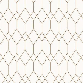 Geometric Diamond Wallpaper Esprit