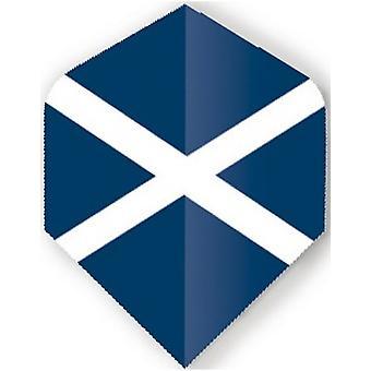 Unicorn Darts Maestro.100 World Flags Plus Flights Ultra Durable - Scotland