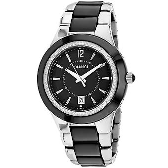 Roberto Bianci Femmes apos;s Classico Black Dial Watch - RB27100