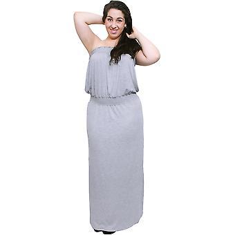 Plus tamaño vestido Smocked de las mujeres
