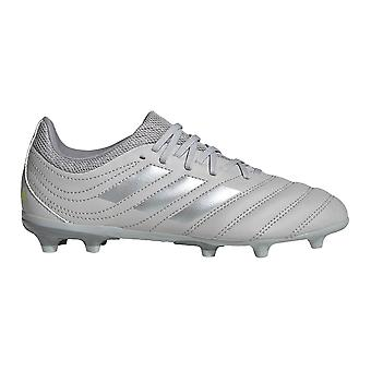 adidas Copa 20.3 FG Firm Ground Kids Football Boot Grey/Silver Encryption