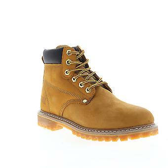Magnum Gritstone  Mens Brown Wide 2E Nubuck Work Lace Up Boots Shoes