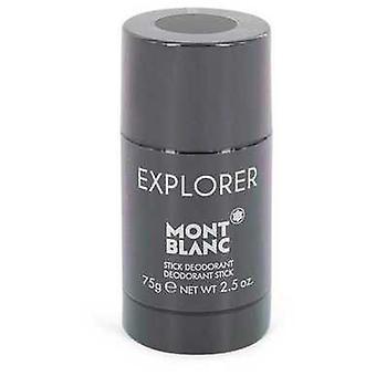 Montblanc Explorer door Mont Blanc Deodorant Stick 2,5 oz (mannen) V728-546181