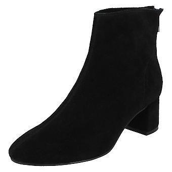 Ladies Leather Collection Suede Cuir Bottines F50966