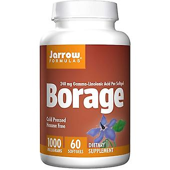 Borage GLA-240 1000 mg (60 Softgels) - Jarrow Formeln
