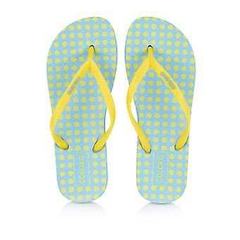 Coloko Laelia Ergonomic Footbed Spotty Flip-Flops