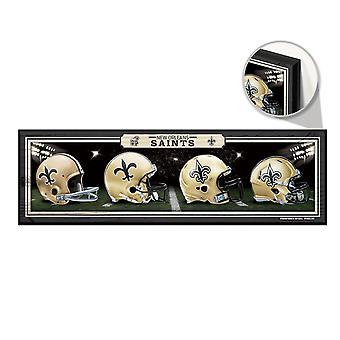 Wincraft NFL Wooden Sign HELME New Orleans Saints 76x22cm