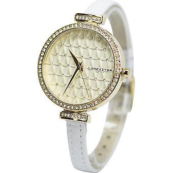 Lancaster watch watches Palace LPW00326 - watch leather white woman Palace