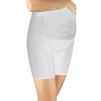 Solidea Panty Maman Maternity Support Shorts [Style 257A5] Bianco (vit) XL