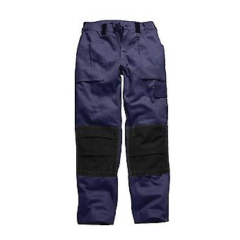 Dickies Mens GDT210 Workwear Trousers Navy Black WD4975N