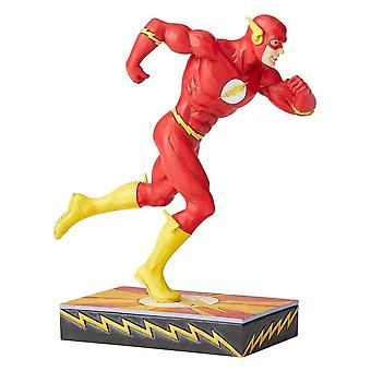 Jim Shore DC Comics Flash Silber Alter Figur