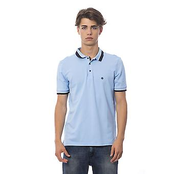 Polo manches courtes Bleu clair Bagutta homme