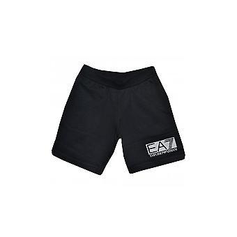 EA7 الفتيان السروال أسود