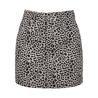 Urban Classics Women's Skirt AOP Twill Mini