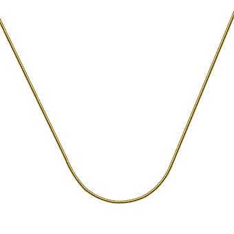 14k Yellow Gold Lite Snake Chain Necklace 1.9mm Lobster Claw Closure Jewelry Gifts for Women - Length: 16 to 24