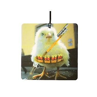 A Seriously Armed Chick Car Air Freshener