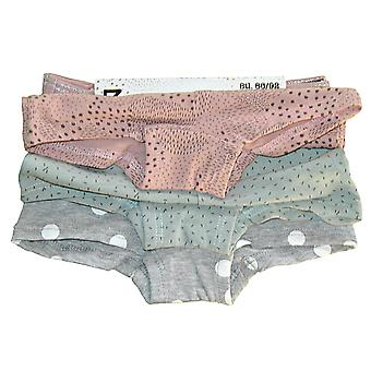 3 pairs of boxer panties - with heart button, 86/92