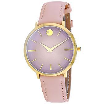 Movado Women's Pink Dial Watch - 607401