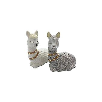 Streamline NYC Alpaca Salt & Pepper Set