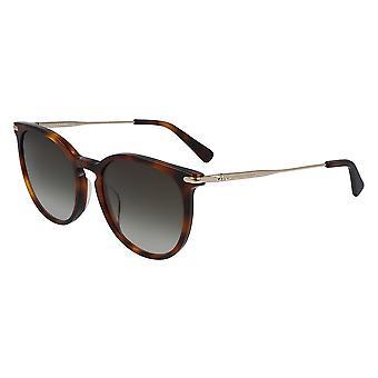Longchamp LO646S 214 Havana/Grey Gradient Sunglasses