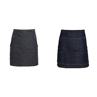 Premier Jeans Stitch Denim Waist Apron (Pack of 2)
