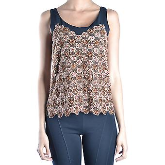 Armani Collezioni Ezbc049140 Women's Multicolor Silk Top