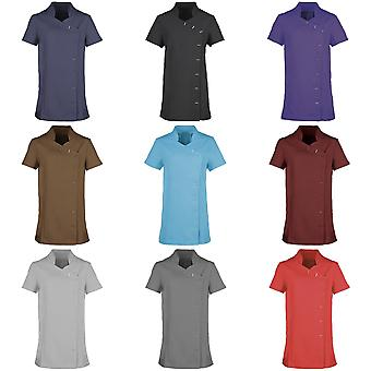 Premier Womens/Ladies *Orchid* Tunic / Health Beauty & Spa / Workwear (Pack of 2)