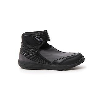 Asics 1023a009001 Men's Black Leather Hi Top Sneakers