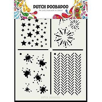 الهولندية Doobadoo الهولندية قناع الفن متعدد الاستنسل 2 A5 470.715.131