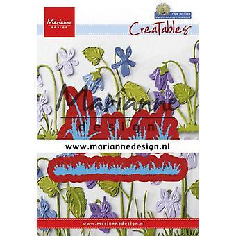 Marianne Design Creatables Cutting Dies - Petra's Grass LR0650 25.5x37.5mm - 77.5x12.5mm