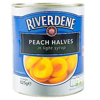 Riverdene Peach Halves in Light Syrup