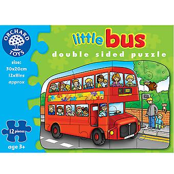 Little Bus Double Sided Puzzle