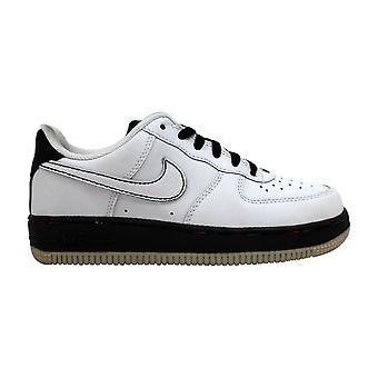Nike Force 1 White/white-black-metallic Silver 314193-114 Pre-School