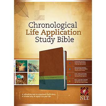 Chronological Life Application Study Bible-NLT - 9781414339290 Book