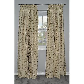 McAlister tekstiler Annabel floral salvie grønne gardiner