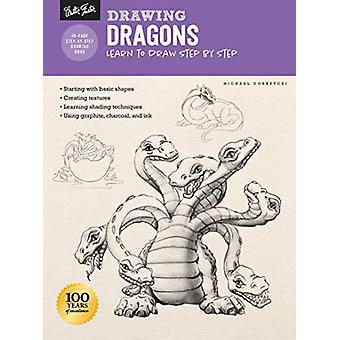 Drawing - Dragons - Learn to draw step by step by Michael Dobrzycki - 9
