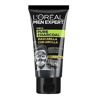 Facial Mask Pure Charcoal L'Oreal Make Up (50 ml)