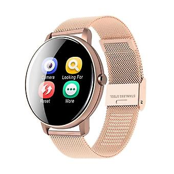 Lige Q5 Plus Sports Smartwatch Fitness Sport Activity Tracker Smartphone Watch iOS Android iPhone Samsung Huawei Rose Gold Metal