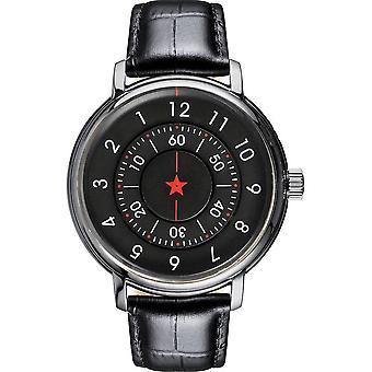 CCCP - Wristwatch - Herrren - ALEKSANDOROV - CP-7042-01 - Black / Black