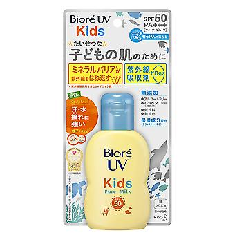 Biore UV Kids Pure Milk Sunscreen SPF50 / PA +++ 70ml sans parfum