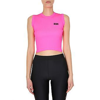 Gcds Cc94w02110946 Dames's Roze Nylon Top