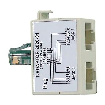 Cat 5E Splitter Cable Voice Data Slim