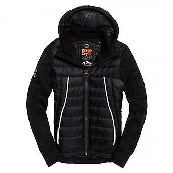 Superdry Storm Flash Hybrid Hoody Jacket Black U4R