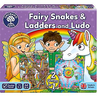 Orchard Toys Fairy Snakes & Ladders