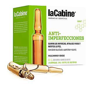 La Cabine Ampollas Anti-imperfecciones 10 X 2 Ml pentru femei