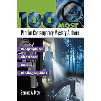100 Most Popular Contemporary Mystery Authors - Biographical Sketches