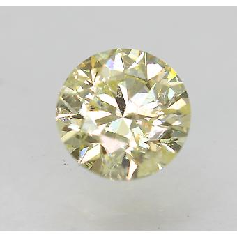 Zertifiziert 0,70 Karat K Farbe SI2 Runde brillante natürliche Diamant 5,5 mm 2VG